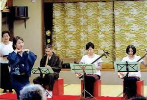 三味線と日本舞踊