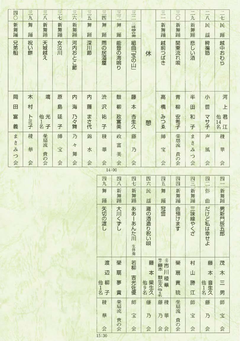 太田市芸能連盟発表会
